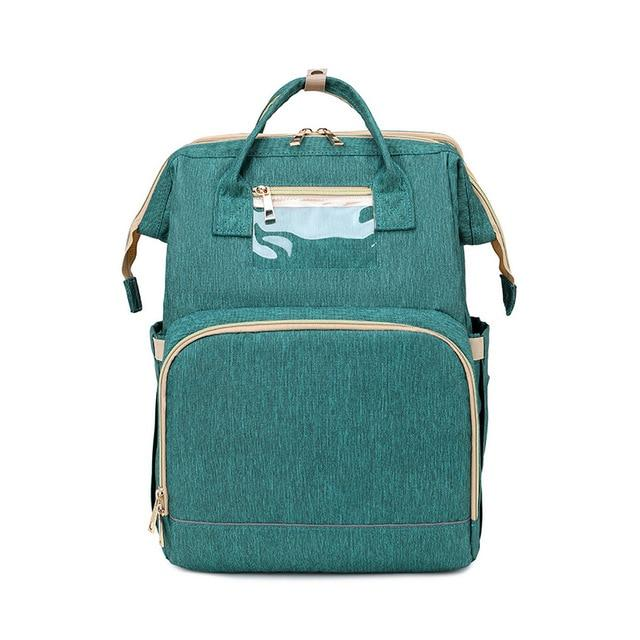 LinePeek Bag green / China Best Parents Diaper Backpack