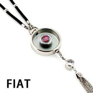 LinePeek Gadgets Fiat Car Perfume Totem with Logo