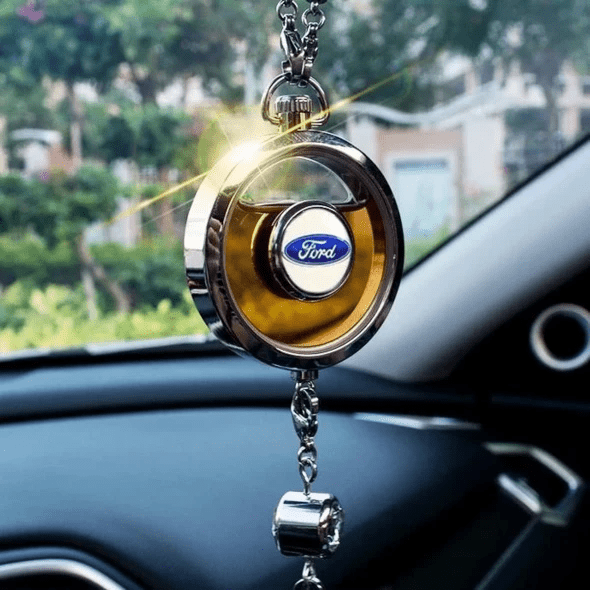 LinePeek Gadgets Ford  (2 Left) Car Perfume Totem with Logo