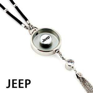 LinePeek Gadgets Jeep Car Perfume Totem with Logo