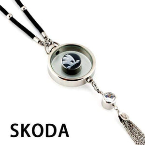 LinePeek Gadgets Skoda  (8 Left) Car Perfume Totem with Logo