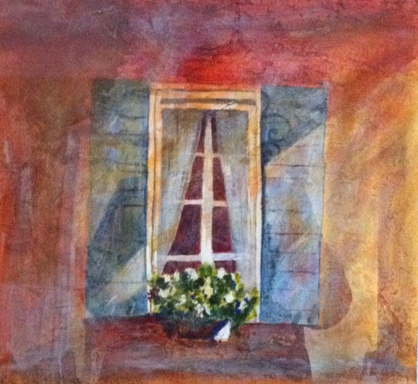 082 - Curtained Window