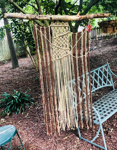 17 Macrame Wallhanging