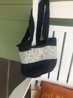 Shoulder bag with long straps