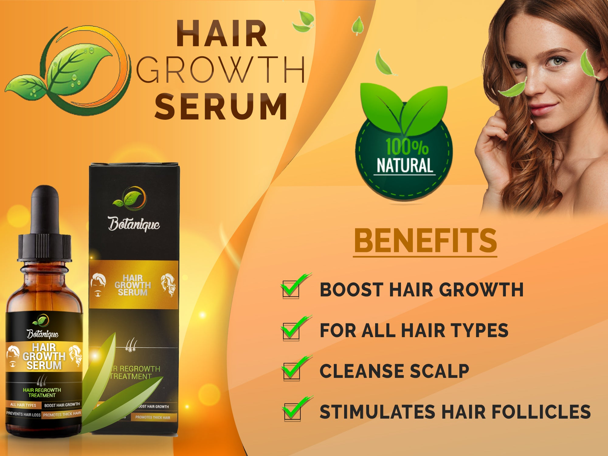 Hair Growth Serum 2020 ( Hair Growth and Thickness )