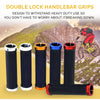 Bicycle Double Lock on Bicycle Handlebar Grips