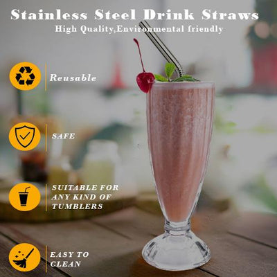 Non-toxic Reusable Stainless Steel Straws