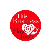 The business slow food logo