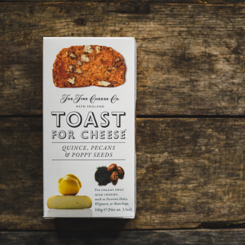 Fine English Toast For Cheese