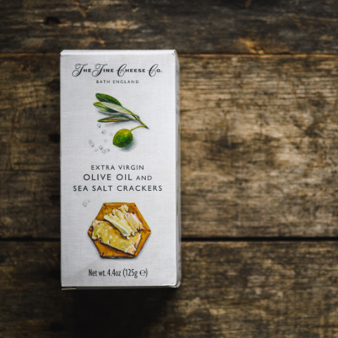 Fine English Olive Oil Crackers