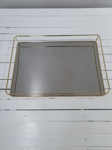 Mirrored Tray