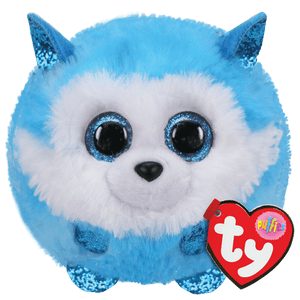 PRINCE - Puffy Husky Stuffed Animal