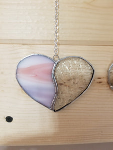 Pink and Clear Heart