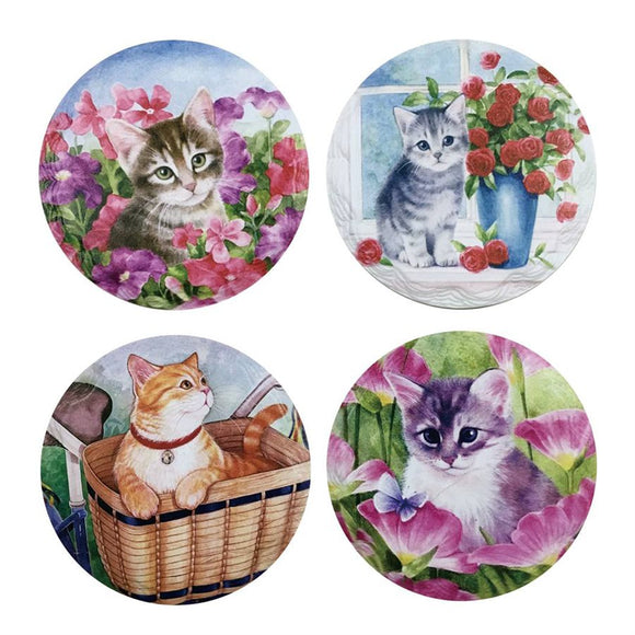 Cats, Beverage Coaster (4)