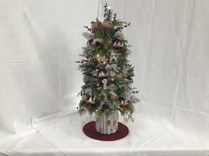 Happy Holidays - Mini Tree - MT54