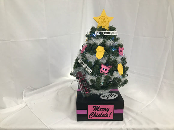 Spittin' Chicklets Christmas - Mini Tree - MT69