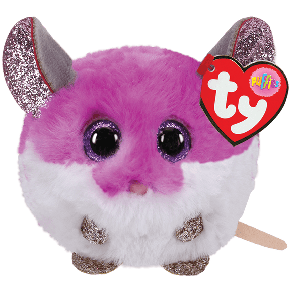 COLBY - Puffy Mouse Stuffed Animal