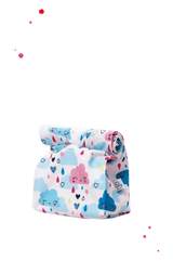 Sweet lunchbag snack bag with clouds