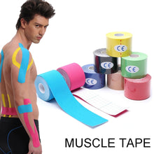 Load image into Gallery viewer, 1Pcs Roll Elastic Adhesive Tape 5cm/2.5cm*5m Sport Muscle Tape Bandage Care Kinesiology First Aid Tape Muscle Injury Support