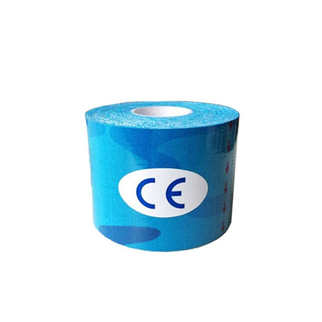 1Pcs Roll Elastic Adhesive Tape 5cm/2.5cm*5m Sport Muscle Tape Bandage Care Kinesiology First Aid Tape Muscle Injury Support
