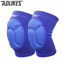 Load image into Gallery viewer, AOLIKES Thickening Football Volleyball Extreme Sports knee pads brace support Protect Cycling Knee Protector Kneepad rodilleras