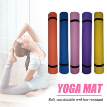 Load image into Gallery viewer, 173*61*0.4cm Yoga Mat Anti-slip Blanket PVC Gymnastic Sport Health Lose Weight Fitness Exercise Pad Women Sport Yoga Mat