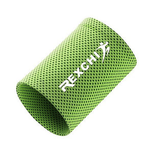 1PC Wrist Brace Support Breathable Ice Cooling Tennis Wristband Wrap Sport Sweatband For Gym Yoga Volleyball Hand Sweat Band