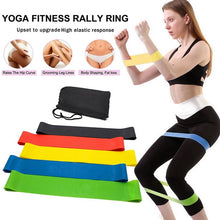 Load image into Gallery viewer, 17pcs Yoga Band Tube Resistance Bands Set Fitness Elastic Rubber Band Training Workout Expander Pull Rope Gym Fitness Equipment