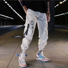 Load image into Gallery viewer, Hip hop Pants Men Loose Joggers Pants with Print Streetwear Harem Pants length Trousers Sport Casual Fashion Harajuku Men Pants
