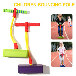 Children Bouncing Outdoor Games Jump Pole Training Sports Fitness Educational Toys Exercise Balance Jumping Stilts Safety Toys