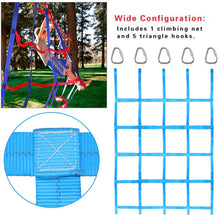 Load image into Gallery viewer, Outdoor Climbing Net Ribbon Children's Climbing Net sturdy nylon Physical Athletic Competitive Training Net For Fitness Training