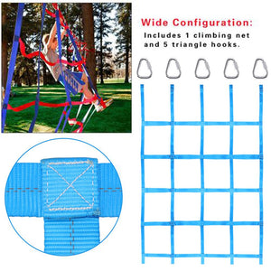 Outdoor Climbing Net Ribbon Children's Climbing Net sturdy nylon Physical Athletic Competitive Training Net For Fitness Training