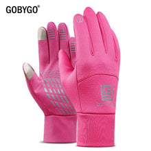 Load image into Gallery viewer, Waterproof Fleece Men Women Ski Gloves Wind-proof Thermal Touch Screen Outdoor Sport Cycling Snowboard Gloves