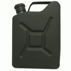 5oz Army Green Jerry Can Hip Flask