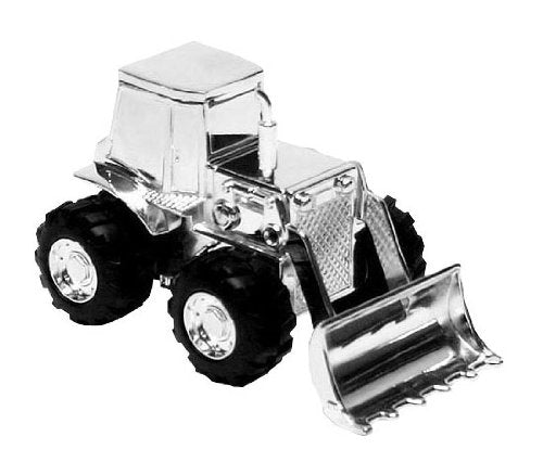 Digger Money Box - Silver Plated