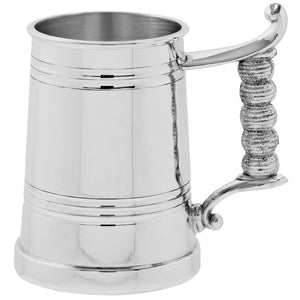 1 Pint Pewter Lined Tankard