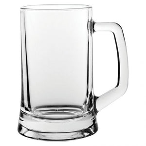 Glass Tankard 14oz - Logo