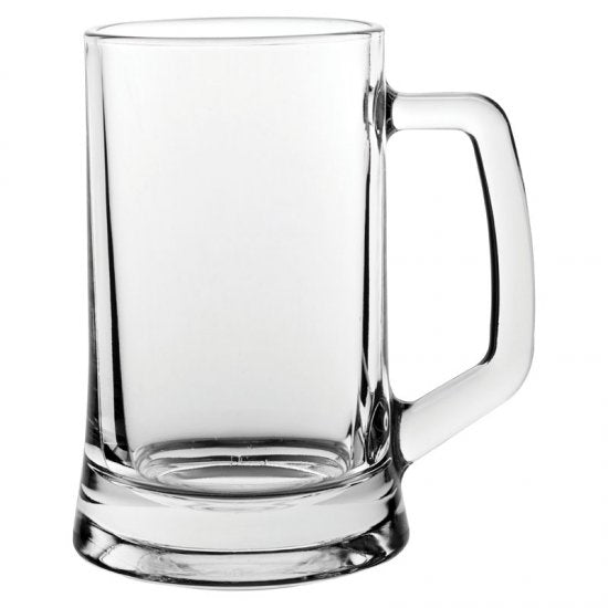 Glass Tankard 14oz - Hand Engraving Included