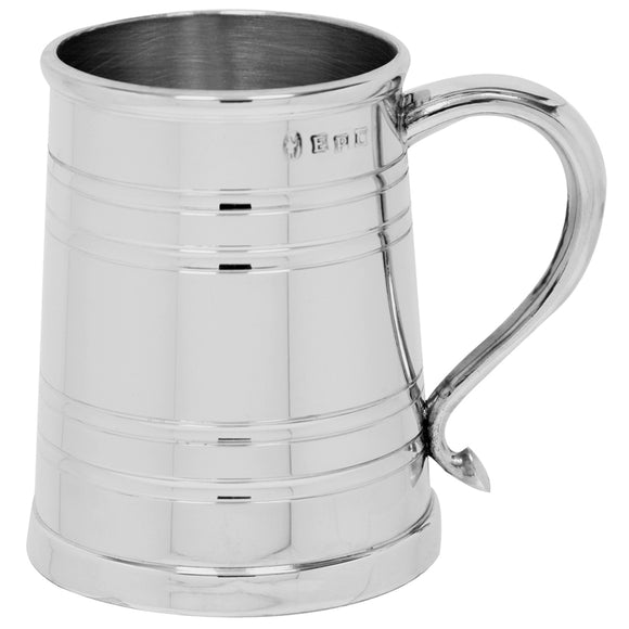 1 Pint Pewter Tankard Heavy