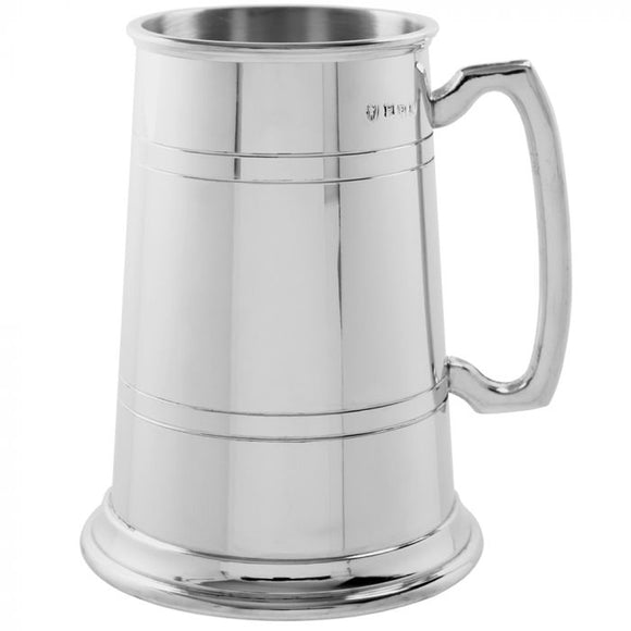 2 Pint Pewter Tankard Large