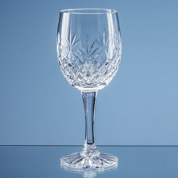 285ml Blenheim Lead Crystal Full Cut Goblet
