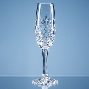 165ml Blenheim Lead Crystal Panel Champagne Flute