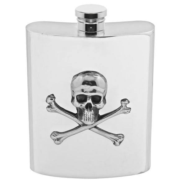 6oz Poison Hip Flask