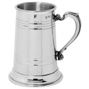 1 Pint Pewter Tankard Lined Heavy