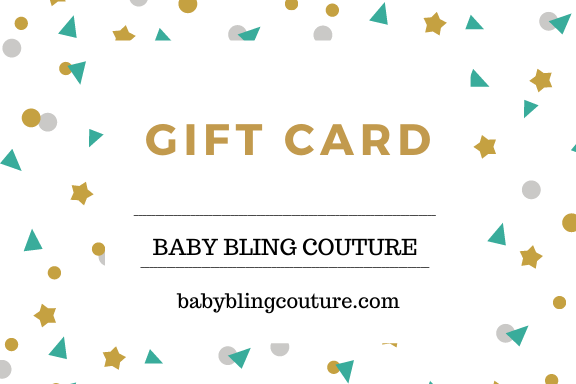 Baby Bling Couture Gift Cards