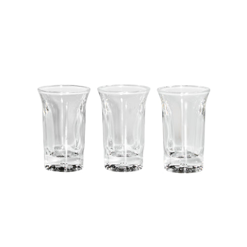 tall acrylic shot glasses