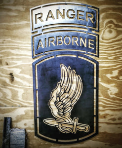 173rd Airborne with Ranger tab