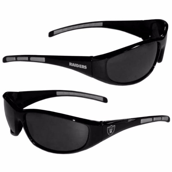 NFL/MLB/NHL Team UV400 3dot Wrap Style Sunglasses
