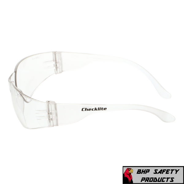 3 PAIR PACK Protective Safety Glasses Clear Lens Work UV Z87