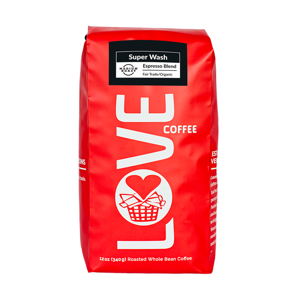 Super Wash | Love Coffee | Cascadia Coffee Roasters